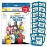 אוסף מדבקות PANINI כוכבי הכדורגל 2021-2022 - חבילה של 15 חפיסות