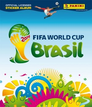 2014 FIFA World Cup Brazil™ Official Licensed Sticker Collection