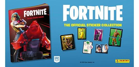 Fortnite Black Frame Series
